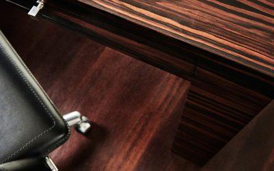 Revestimientos: maderas, ébano