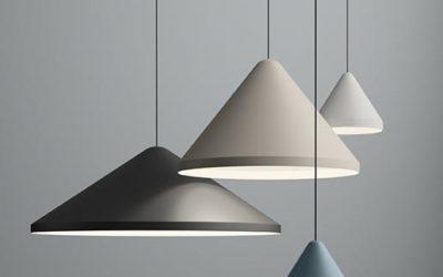 La limpia geometría de la lámpara North